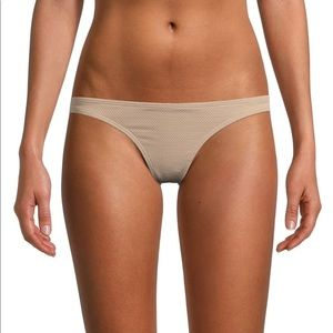 Free People x PILYQ Textured Bikini Bottom